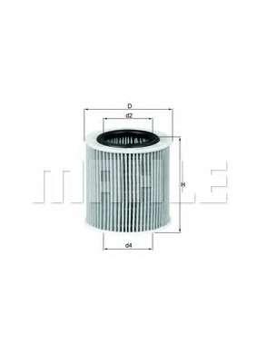 Масляный фильтр KNECHT OX 387D