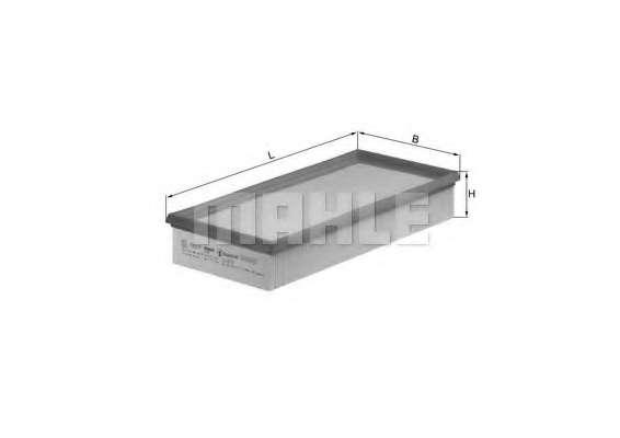 Воздушный фильтр KNECHT LX 572