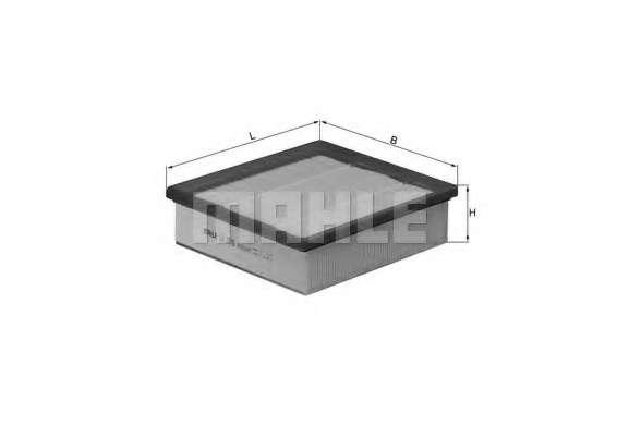 Воздушный фильтр KNECHT LX 2676