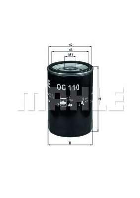 Масляный фильтр KNECHT OC 110