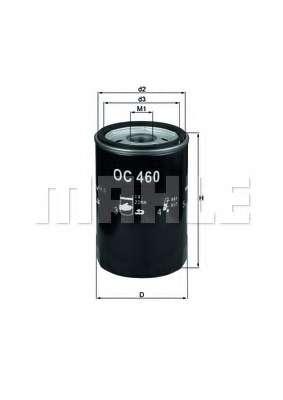 Масляный фильтр KNECHT OC 460