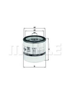 Масляный фильтр KNECHT OC 405/3