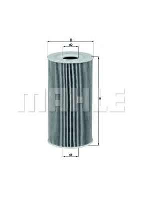 Масляный фильтр KNECHT OX 126D