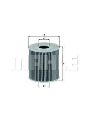 Масляный фильтр KNECHT OX 339/2D