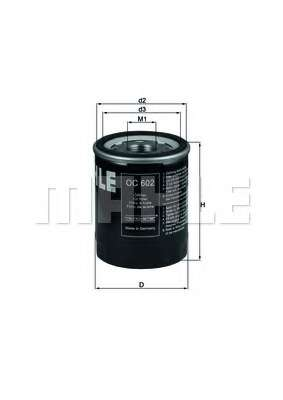 Масляный фильтр KNECHT OC 602