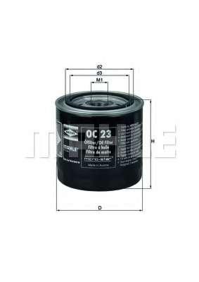 Масляный фильтр KNECHT OC 23