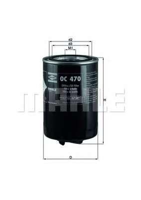 Масляный фильтр KNECHT OC 470