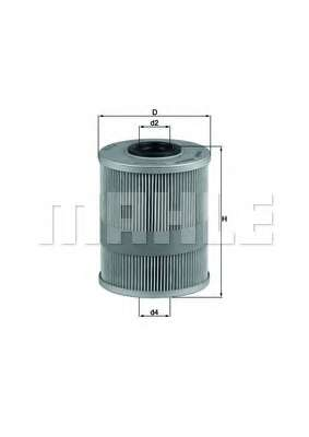 Топливный фильтр KNECHT KX 78D