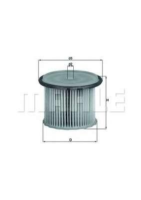 Топливный фильтр KNECHT KX 63/1