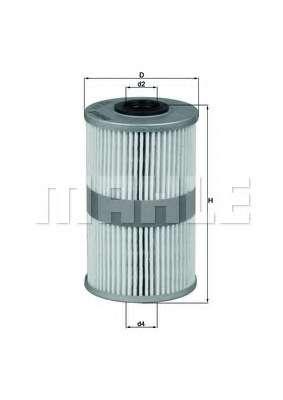 Топливный фильтр KNECHT KX 204D