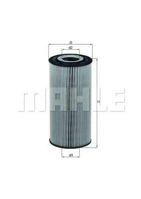 Масляный фильтр KNECHT OX 123/1D