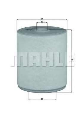 Воздушный фильтр KNECHT LX 2049/4