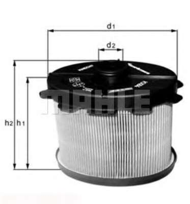 Топливный фильтр KNECHT KX 84D