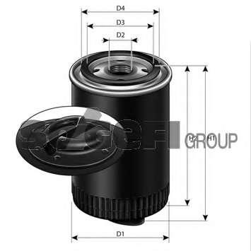 Масляный фильтр PURFLUX LS553D