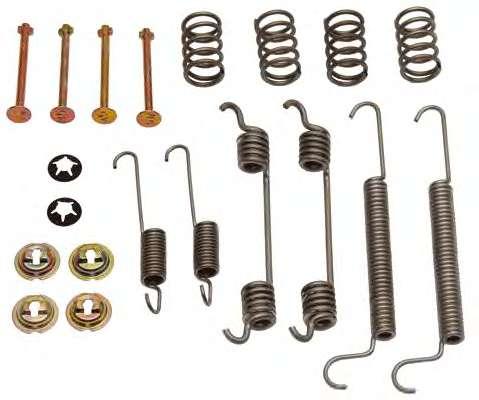 Комплектующие, тормозная колодка OPEL 1605985