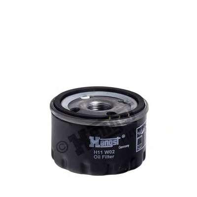 Масляный фильтр HENGST FILTER H11W02