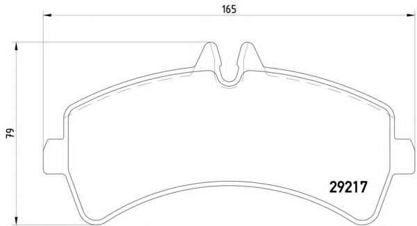 Комплект тормозных колодок, дисковый тормоз MERCEDES-BENZ A0064204520
