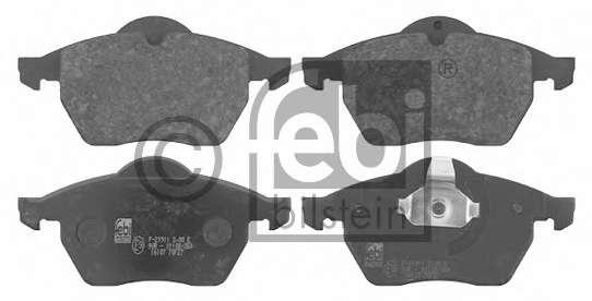 Комплект тормозных колодок, дисковый тормоз GENERAL MOTORS 9195146
