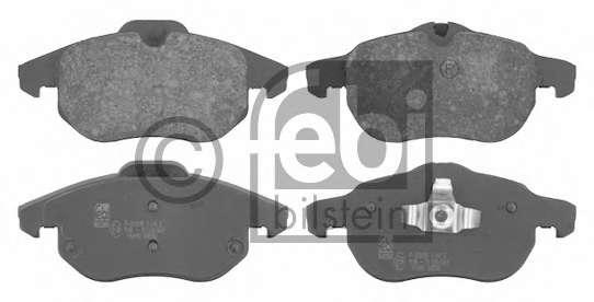 Комплект тормозных колодок, дисковый тормоз GENERAL MOTORS 93176121