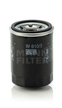 Масляный фильтр MANN-FILTER W 610/3