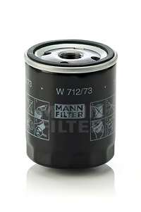 Масляный фильтр MANN-FILTER W 712/73