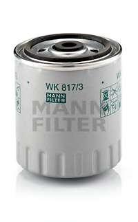 Топливный фильтр MANN-FILTER WK 817/3 X