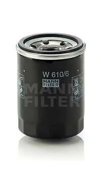 Масляный фильтр MANN-FILTER W 610/6