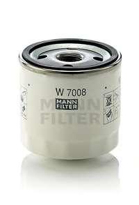 Масляный фильтр MANN-FILTER W 7008