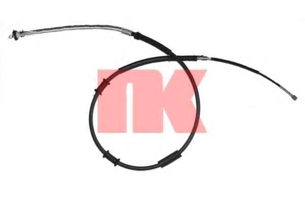 Трос, стояночная тормозная система NK 9023133