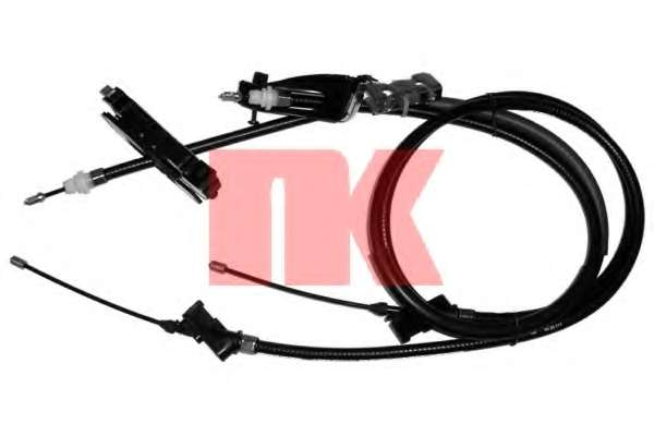Трос, стояночная тормозная система NK 9025111