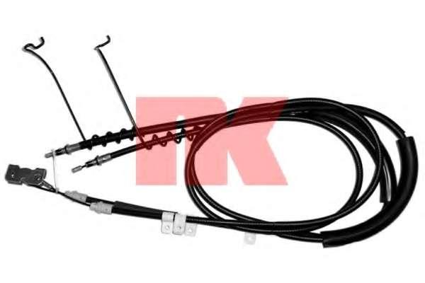 Трос, стояночная тормозная система NK 9025120