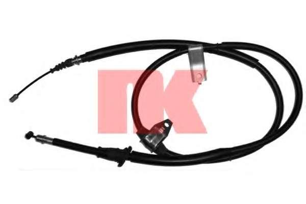 Трос, стояночная тормозная система NK 903407