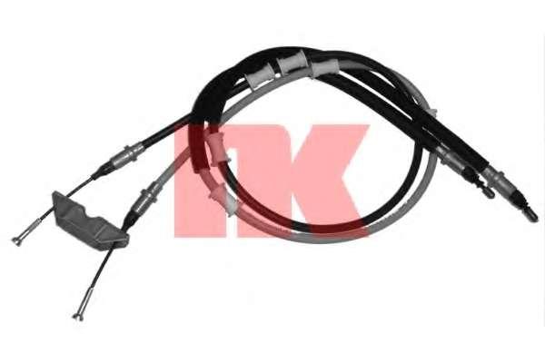 Трос, стояночная тормозная система NK 903691
