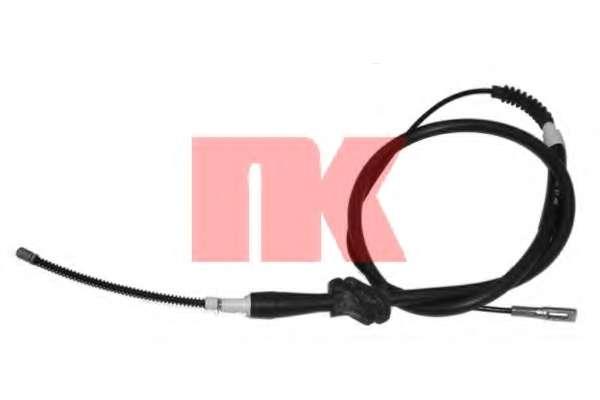 Трос, стояночная тормозная система NK 904748