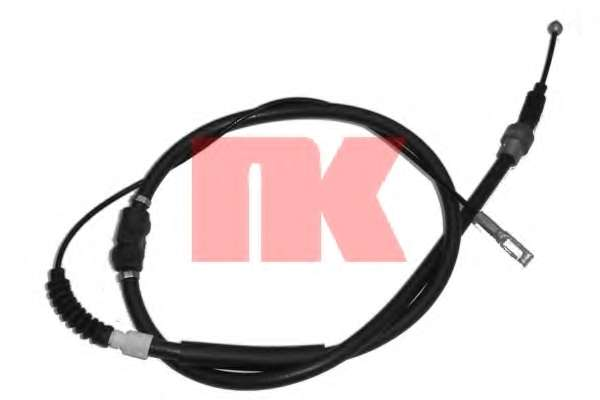 Трос, стояночная тормозная система NK 904753