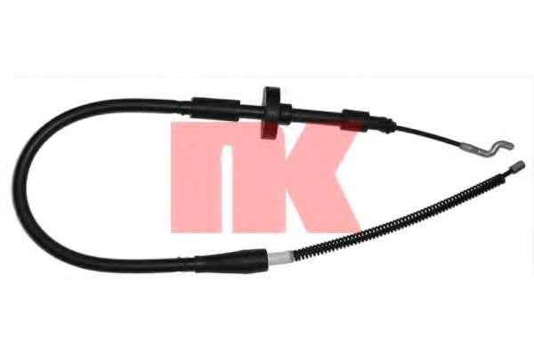 Трос, стояночная тормозная система NK 904763