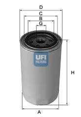 Масляный фильтр UFI 23.164.03