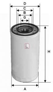 Масляный фильтр SOFIMA S 3003 DR