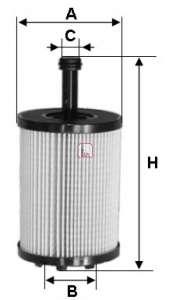 Масляный фильтр SOFIMA S 5023 PE
